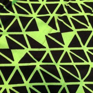 25b2f344141c2 nollia Pants | Fashion Legging Bright Green And Black Print | Poshmark